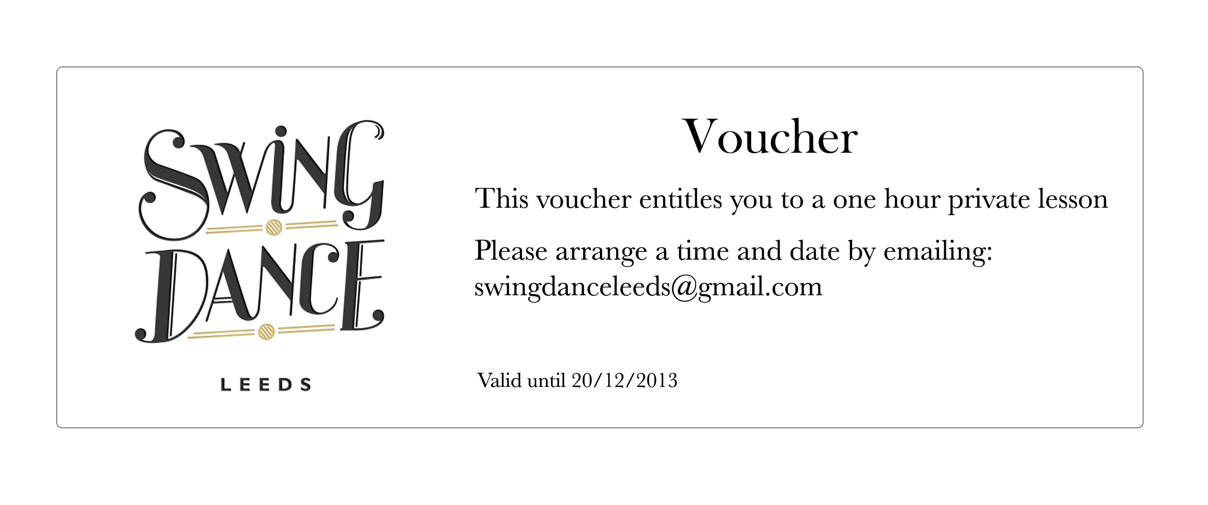 Voucher Web  Make Your Own Voucher